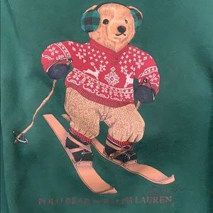 Polo by Ralph Lauren Polo Skiing Bear Sweatshirt